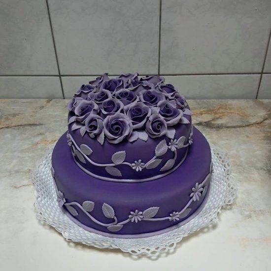 Violetinis imtadienio Tortas